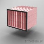 Filtr kieszeniowy F7 592x490x600