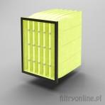 Filtr kieszeniowy F8 490x592x600