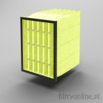 Filtr kieszeniowy F8 490x592x630